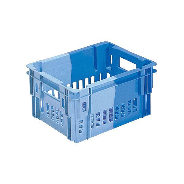 (業務用10個セット)三甲(サンコー) SNコンテナ/2色コンテナボックス 【Cタイプ】 #11 ブルー×ライトブルー 青