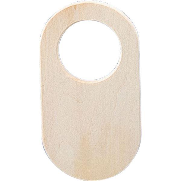 (まとめ) 木彫ドアプレート 【×30セット】