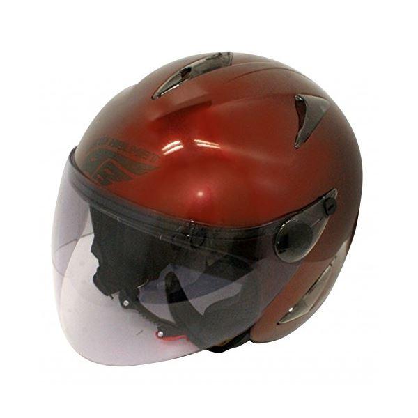 ダムトラックス(DAMMTRAX) バードヘルメット MAROON mens