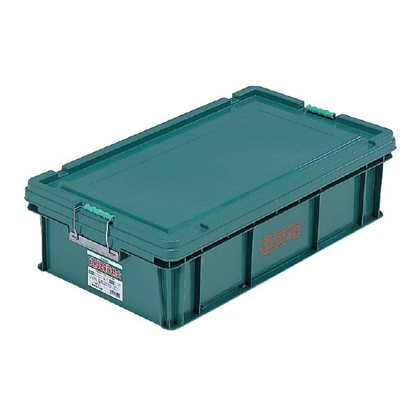 (業務用3個セット) 三甲(サンコー) 左官用道具箱/ツールボックス 【特大】 PP製 グリーン(緑) 緑