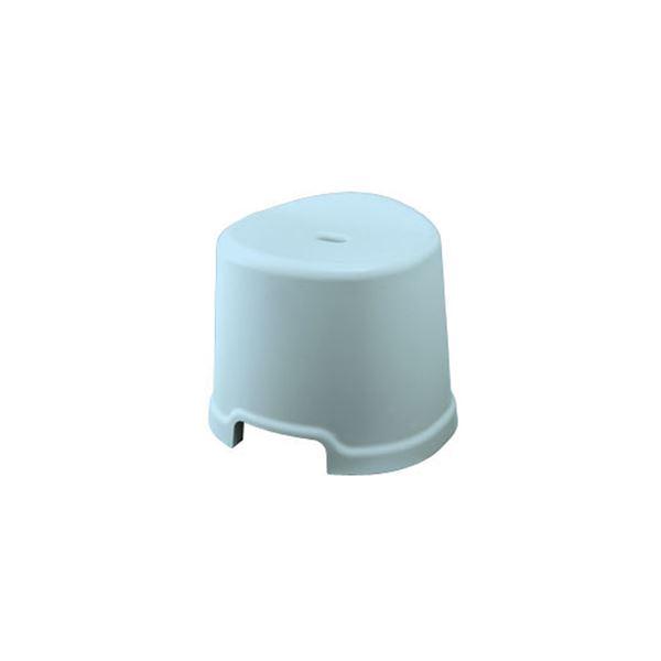 【16セット】 シンプル バスチェア/風呂椅子 【300 ブルー】 すべり止め付き 材質:PP 『HOME&HOME』【代引不可】