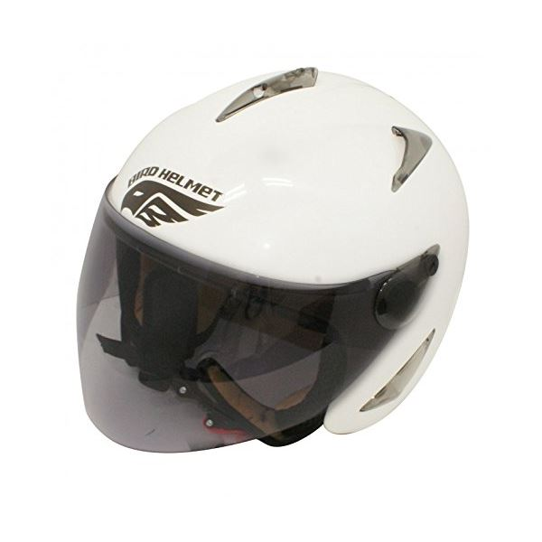 ダムトラックス(DAMMTRAX) バードヘルメット P.WHITE ladys