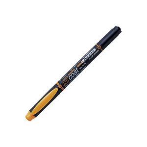 (業務用300セット) トンボ鉛筆 蛍光マーカー/蛍コート 【太字・細字/橙】 ツインタイプ WA-TC93