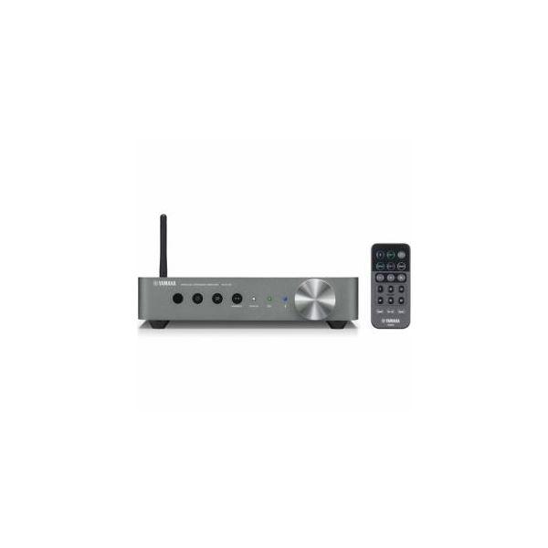 YAMAHA 【ハイレゾ音源対応】 ワイヤレスストリーミングアンプ ダークシルバー WXA50SD