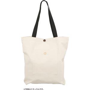 (まとめ) 基礎縫いトートバック コーラルオレンジ 【×10セット】