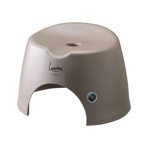 【16セット】 バスチェア/風呂椅子 【小 ブロンズ】 すべり止め付き 『AGラスレウ゛ィーヌ』【代引不可】