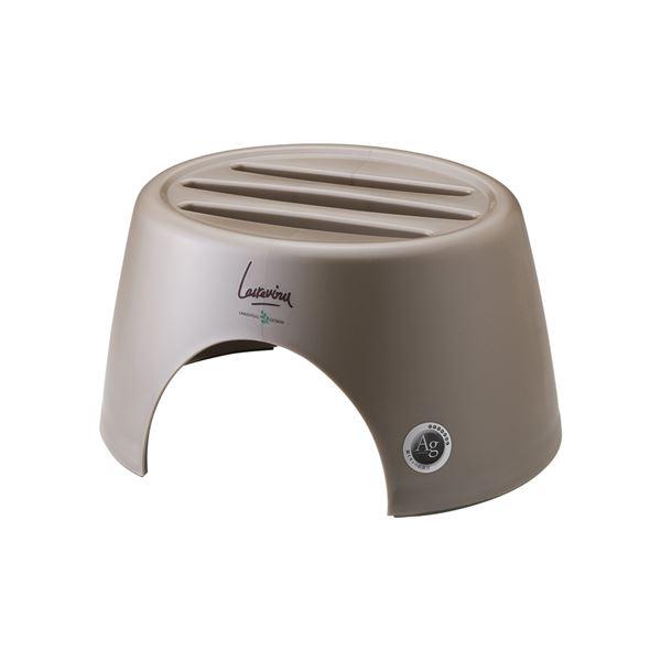 【20セット】 カウンター/洗面器置き 【ブロンズ】 材質:PP すべり止め付き 『AGラスレウ゛ィーヌ』【代引不可】