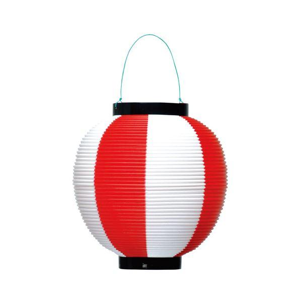 (業務用10セット) タカ印 ポリ提灯 40-7037 赤白