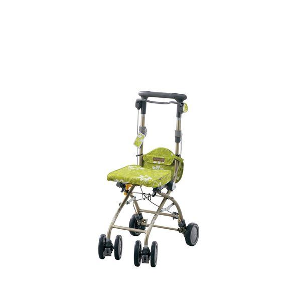 アロン化成 シルバーカー さんぽっぽ グリーン 532-372 緑
