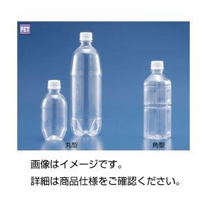 (まとめ)角型プラスチックボトル500ml 4本組【×20セット】