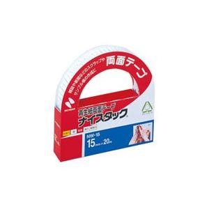 (業務用100セット) ニチバン 両面テープ ナイスタック 【幅15mm×長さ20m】 NW-15