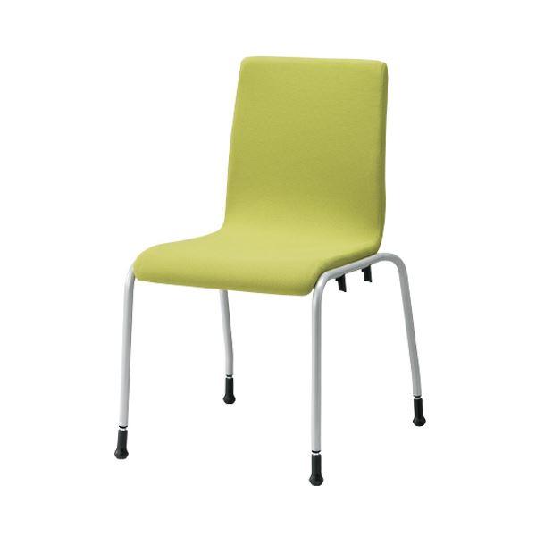 ジョインテックス 会議イス GK-41R イエローグリーン 緑 黄