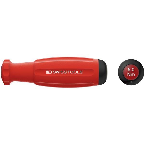 スポーツ レジャー DIY 工具 ドライバー ドライバーセット PB SWISS TOOLS 8314A-5.0 メカトルク(トルクドライバー) プリセット