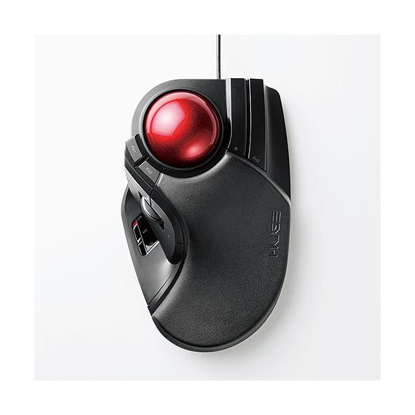 エレコム トラックボール(人差し指・中指操作タイプ) M-HT1URBK