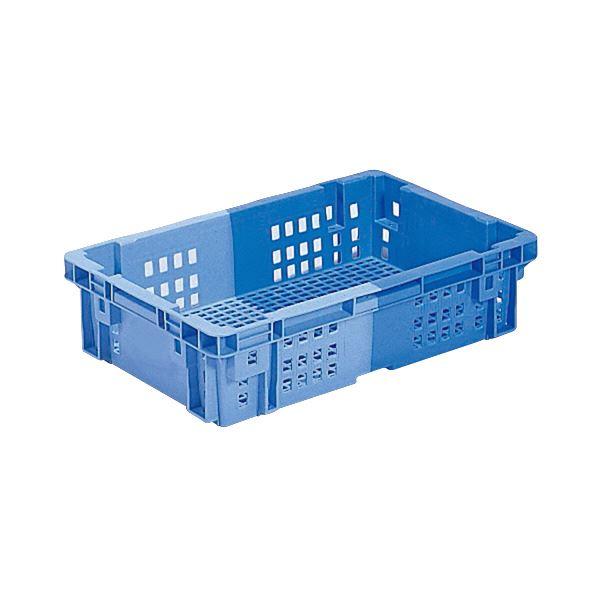 (業務用10個セット)三甲(サンコー) SNコンテナ/2色コンテナボックス 【Cタイプ】 #18S ブルー×ライトブルー 【代引不可】