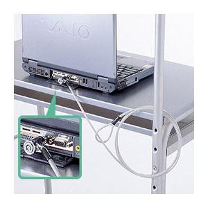 (まとめ) ノートパソコン PC セキュリティ SL-43【×2セット】