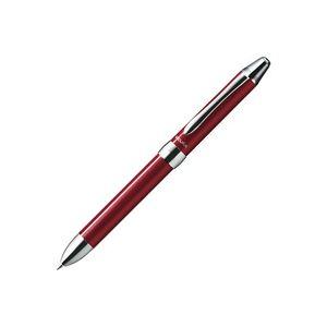 (業務用50セット) ぺんてる 多機能ペン ビクーニャEX 【シャープ芯径0.5mm/ボール径0.7mm】 XBXW1375B 軸色:レッド(赤) 赤