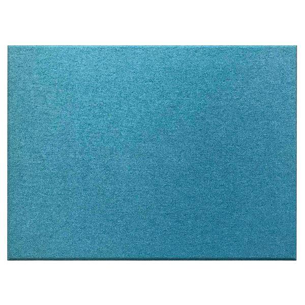 吸音パネル/防音フェルトボード 【80×60cm /ブルー同色12枚セット】布貼りタイプ/45度カット Felmenon EXceed 青