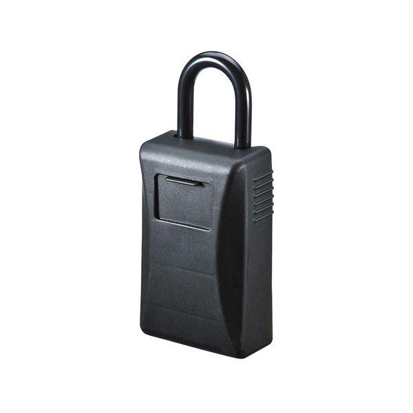 (まとめ)サンワサプライ セキュリティ鍵収納ボックス(シャッター付き) SL-76【×2セット】
