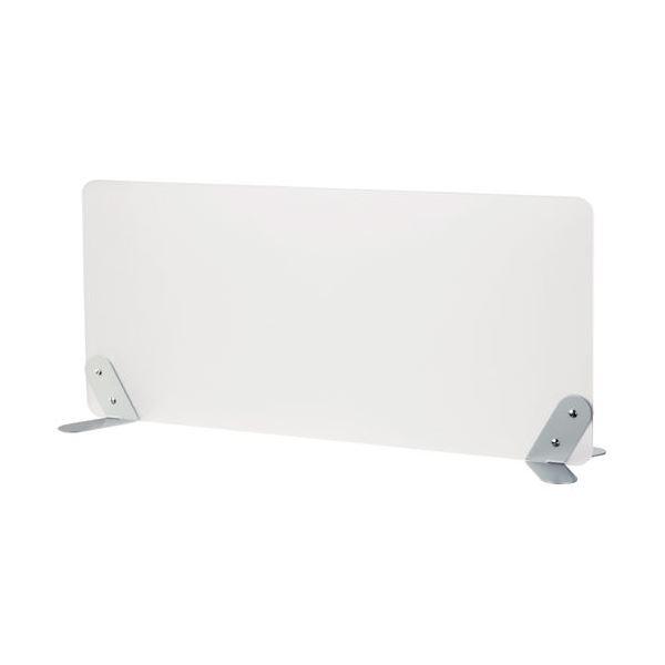林製作所 デスク (テーブル 机) トップパネル/オフィス 事務用 用品 【幅65cm L型】 半透明 MD-3