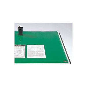 クラウン デスク (テーブル 机) マット コピーレス ダブル 新JIS規格デスク 用 CR-CW168-G