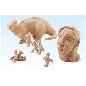 (まとめ) 彫塑ねんど 1kg 【×30セット】