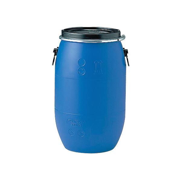 三甲(サンコー) 液体輸送用プラスチックドラム 【オープンタイプ】 PDO 75L-1 UN認定 ブルー(青)【代引不可】