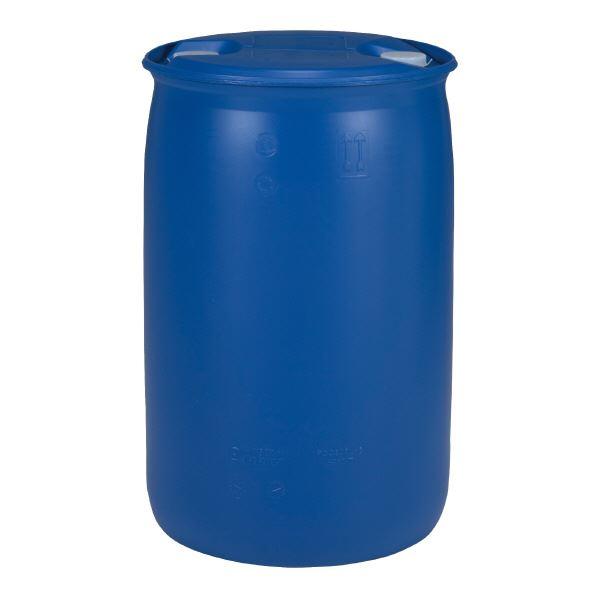 三甲(サンコー) 液体輸送用プラスチックドラム 【密閉タイプ】 PDC 200-6UN P6(PE) ブルー(青)【代引不可】