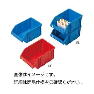 (まとめ)パーツボックス RD(レッド)【×5セット】 赤