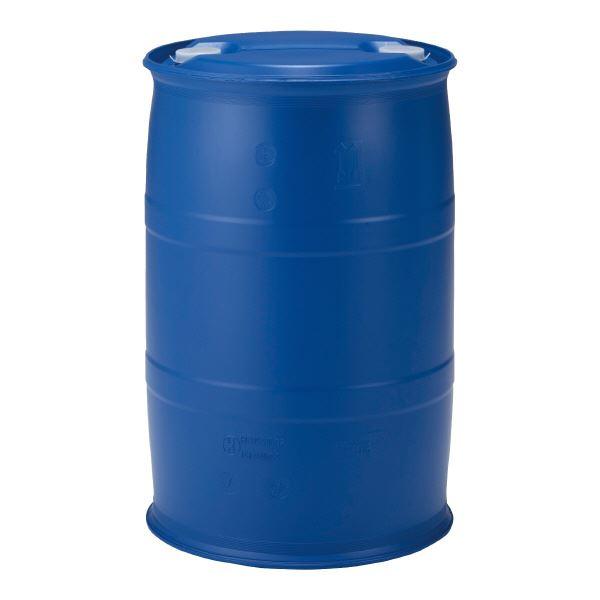 三甲(サンコー) 液体輸送用プラスチックドラム 【密閉タイプ】 PDC 200-7UN P7(PE) ブルー(青)【代引不可】