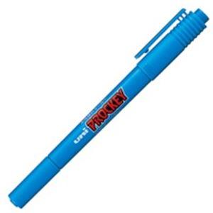 (業務用300セット) 三菱鉛筆 水性ペン/プロッキーツイン 【細字/極細】 水性顔料インク PM-120T.8 水