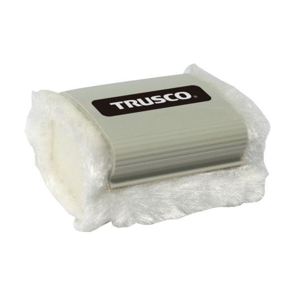 (まとめ) TRUSCO ホワイトボード消し水洗い可 Mサイズ TDCR-M 1個 【×30セット】 白