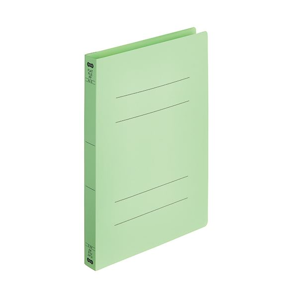 耐久性 耐水性に優れた PP製のフラットファイル まとめ TANOSEEフラットファイル厚とじ 日時指定 PP A4タテ 5冊 グリーン 緑 250枚収容 背幅28mm ×30セット マート 1パック