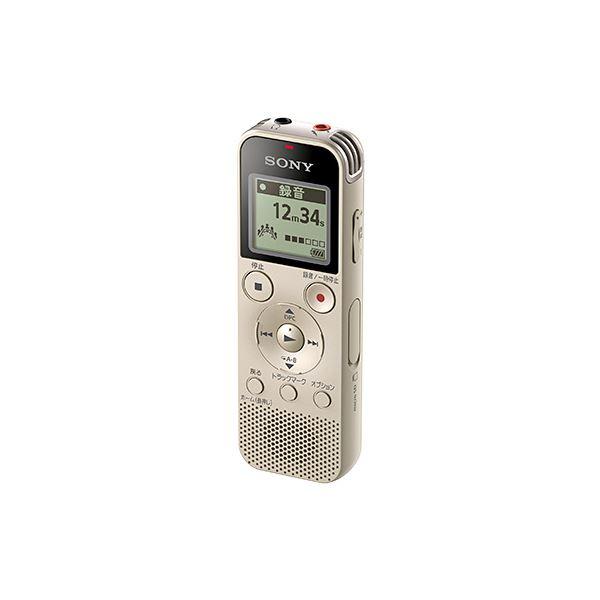 ステレオICレコーダー 4GB ゴールド