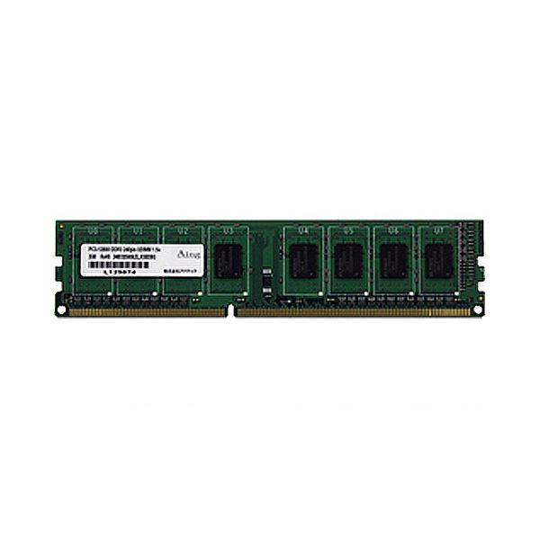 アドテック DDR3 1600MHzPC パソコン 3-12800 240Pin UDIMM 4GB ADS12800D-4G 1枚