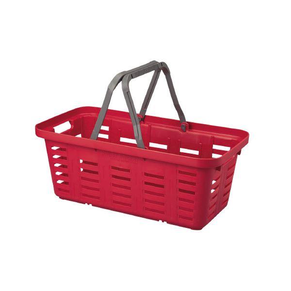 (まとめ)リングスター スーパーバスケットロング SB-560 レッド【×5セット】 赤