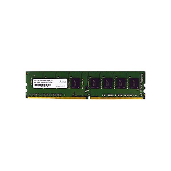アドテック DDR4 2400MHzPC パソコン 4-2400 288Pin UDIMM 4GB 省電力 ADS2400D-X4G 1枚