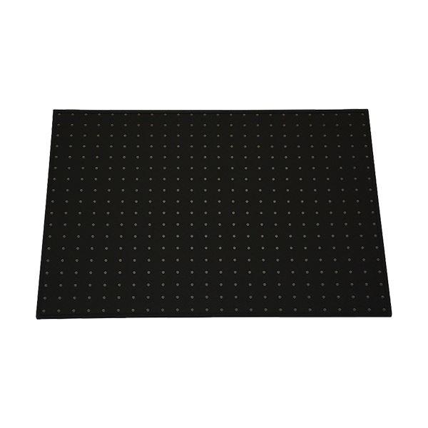 (まとめ)光 パンチングボード フレーム付(約450×600mm) 黒 PGBD406-1 1セット(5枚)【×3セット】