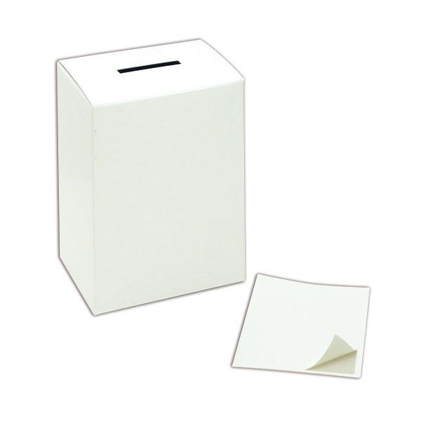 (まとめ) ササガワ 募金箱 紙製 37-80801個 【×30セット】