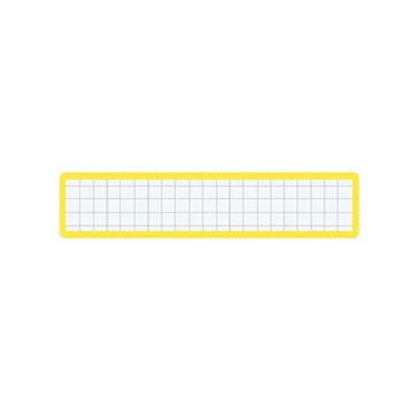 (まとめ)コクヨ マグネット見出し19×105mm 黄 マク-411Y 1セット(10個)【×10セット】