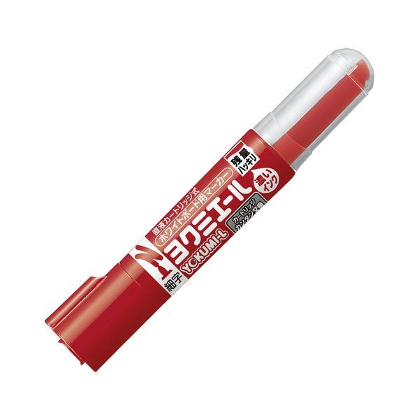 (まとめ) コクヨ ホワイトボード用マーカーペン ヨクミエール 細字・丸芯 赤 PM-B501R 1本 【×100セット】 白