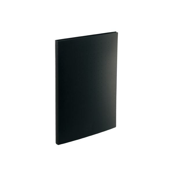 (まとめ)LIHITLAB 名刺帳 A4 300枚用 黒 A-5042-24【×10セット】