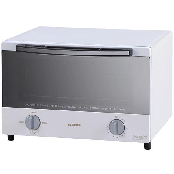 スチームオーブントースター 4枚焼き ホワイト 白