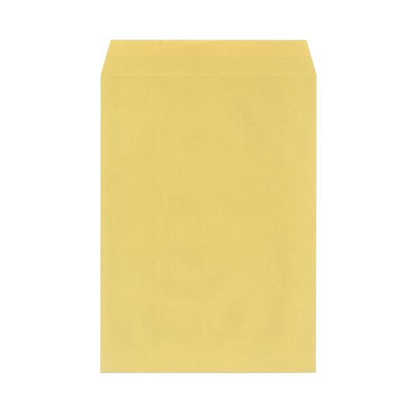 (まとめ)今村紙工 地紋入クラフト封筒 角2 100枚テープ付(×30セット)