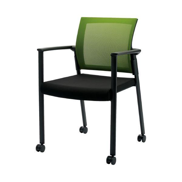 CMC 会議イス SW-1602 グリーン 緑