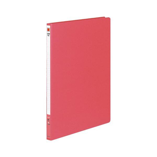 (まとめ) コクヨ レバーファイル(MZ) A4タテ100枚収容 背幅20mm 赤 フ-300NR 1セット(10冊) 【×5セット】