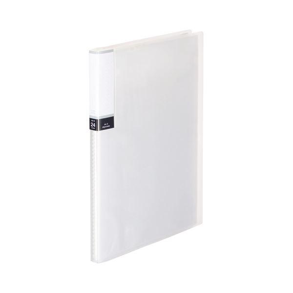 クリヤーファイル 超特価SALE開催 固定式 まとめ TANOSEE クリアブック 透明表紙 A4タテ クリア 1セット 背幅15mm お見舞い ×10セット 24ポケット 10冊