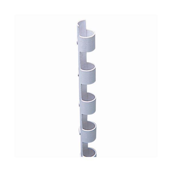 (まとめ) カール事務器 コームリング 直径6mm ホワイト TC-6W 1パック(10本) 【×30セット】 白