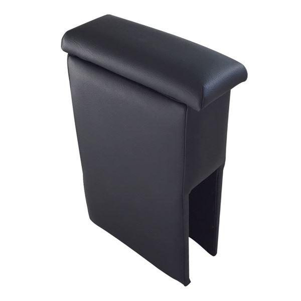 アームレスト 軽自動車 ハイゼットデッキバン S321/331W ブラック 黒 レザー風 日本製 ダイハツ コンソールボックス 収納 内装パーツ カー用品 肘掛け Azur 黒