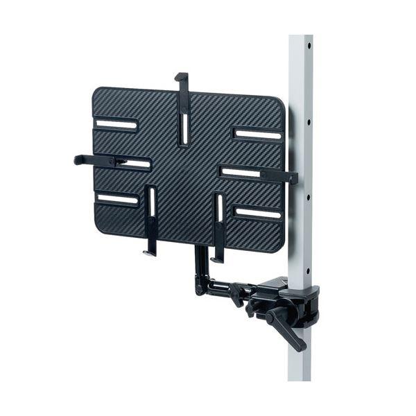 サンワサプライ 9.7~13インチ対応iPad・タブレット用支柱取付けアーム CR-LATAB27